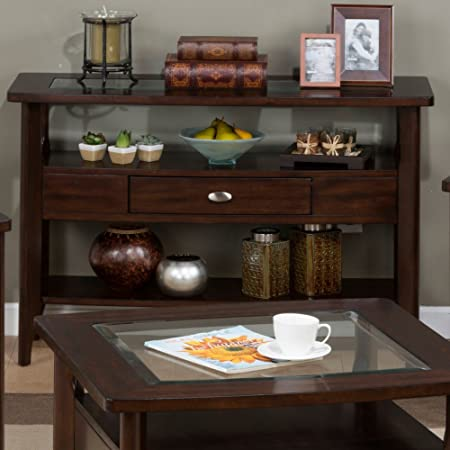 Jofran Montego Sofa Table – Montego Merlot