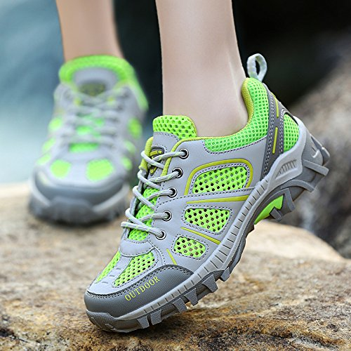 Sneakers Breathable Green Outdoor Women Mountain Shoes Walking Climbing Shoes snfgoij Ladies Hiking Mesh Waterproof gqSzSw