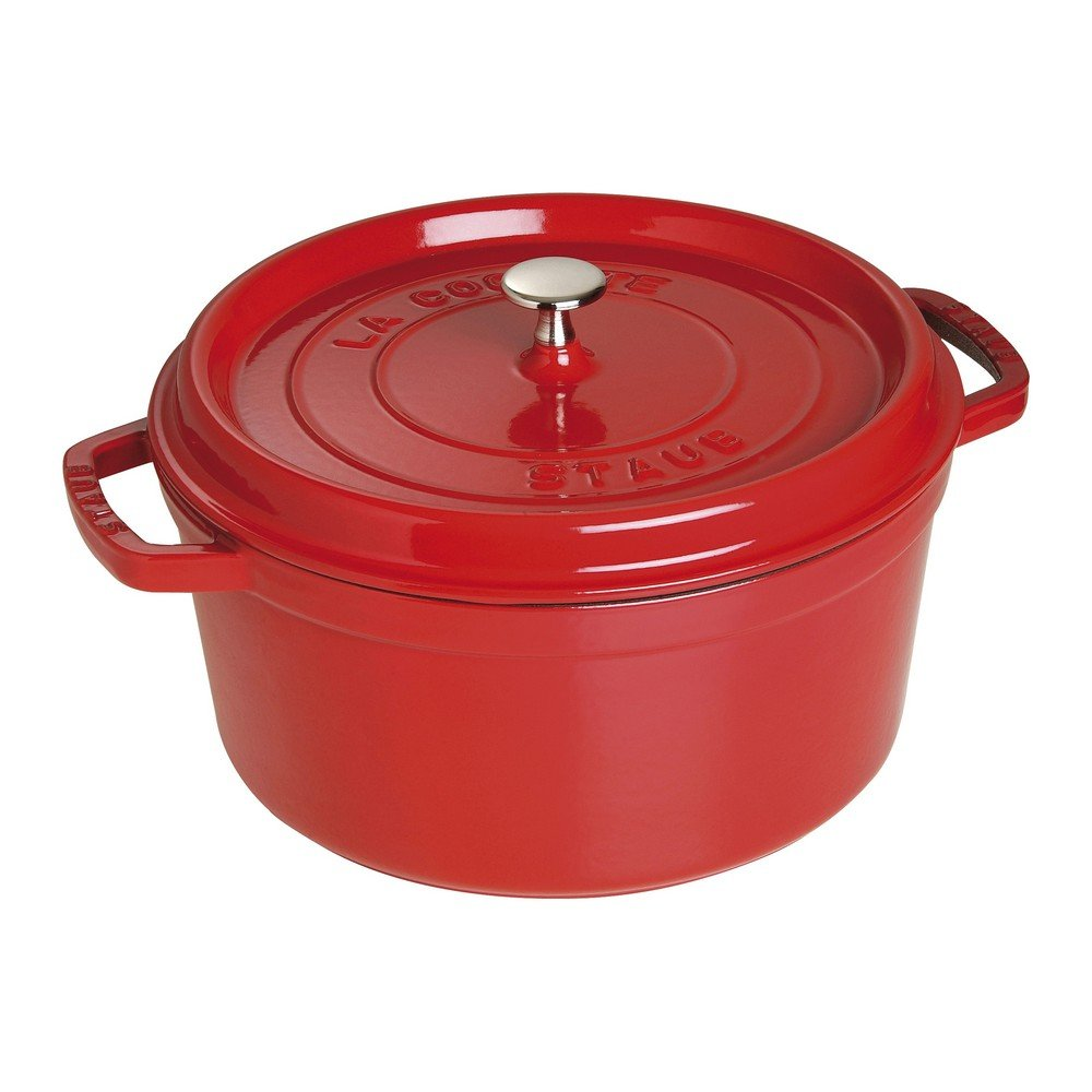 7-Qt. Round Dutch Oven Color: Cherry
