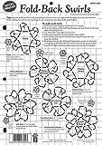 Paper Pizazz Plastic Templates-Fold-Back Swirls