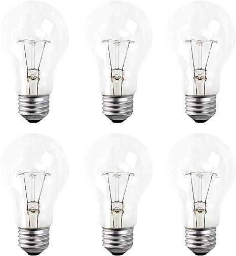 Clear 24 Pack 40 Watt A19 Base 130 Volt 3000 Hour Incandescent E26 Bulb