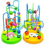 Fulltime(TM) Colorful Wooden Mini Bead Educational Toys for Baby & Toddler Toys