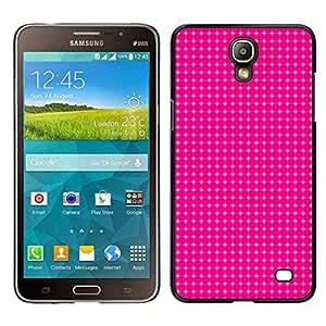Caucho caso de Shell duro de la cubierta de accesorios de protección BY RAYDREAMMM - Samsung Galaxy Mega 2 - Simple patrón de 12