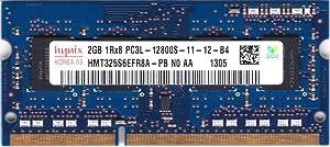 HYNIX HMT325S6EFR8A-PB 2GB Notebook SODIMM DDR3 PC12800(1600) UNBUF 1.35v 1RX8 204P 256MX64 256mX8 C