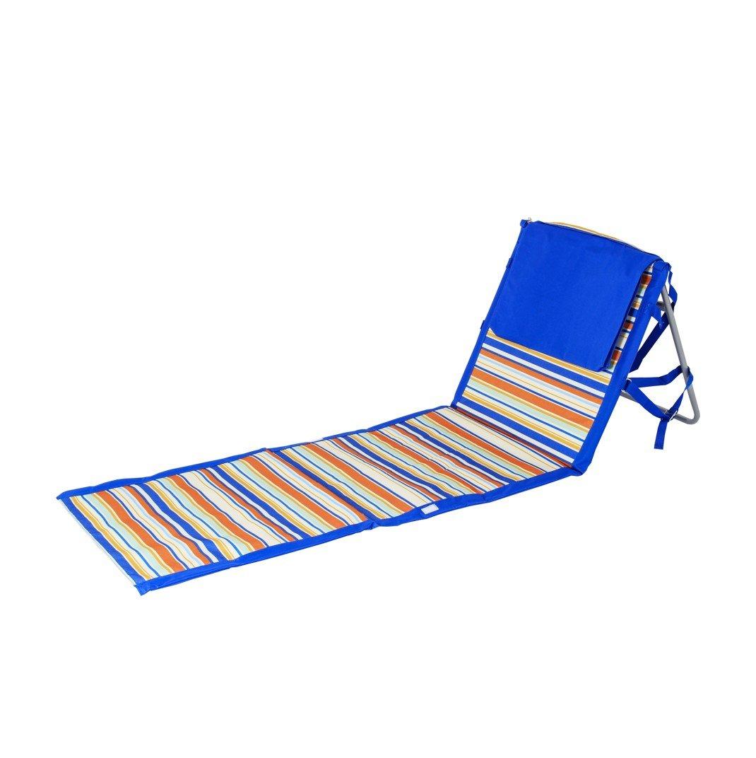 Beaches & Bonfires 91288.0 On The Go Portable Beach Reclining Lounger