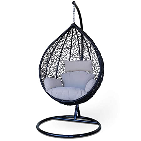 New Spring Swing Chair- Stand and Cushion Included