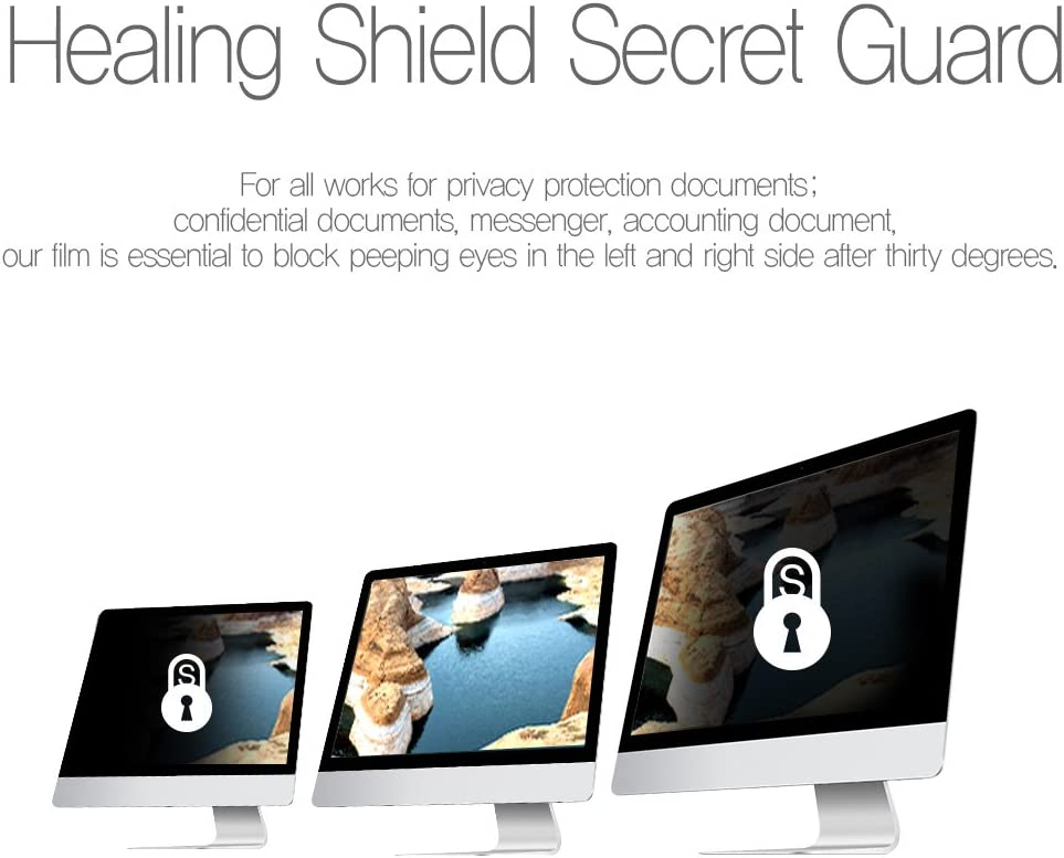 15.6 Wide Monitor Privacy Screen Protection Filter Healing Shield Widescreen Monitor Anti-Scratch Blue-Light Data Confidentiality Anti-Glare