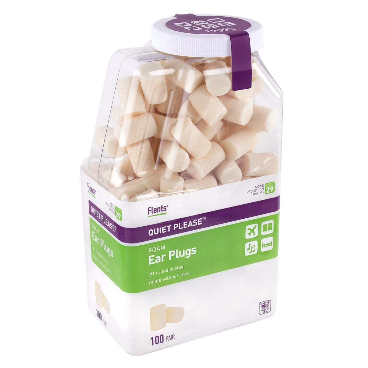 Flents Quiet Please Earplugs (100 Pair)
