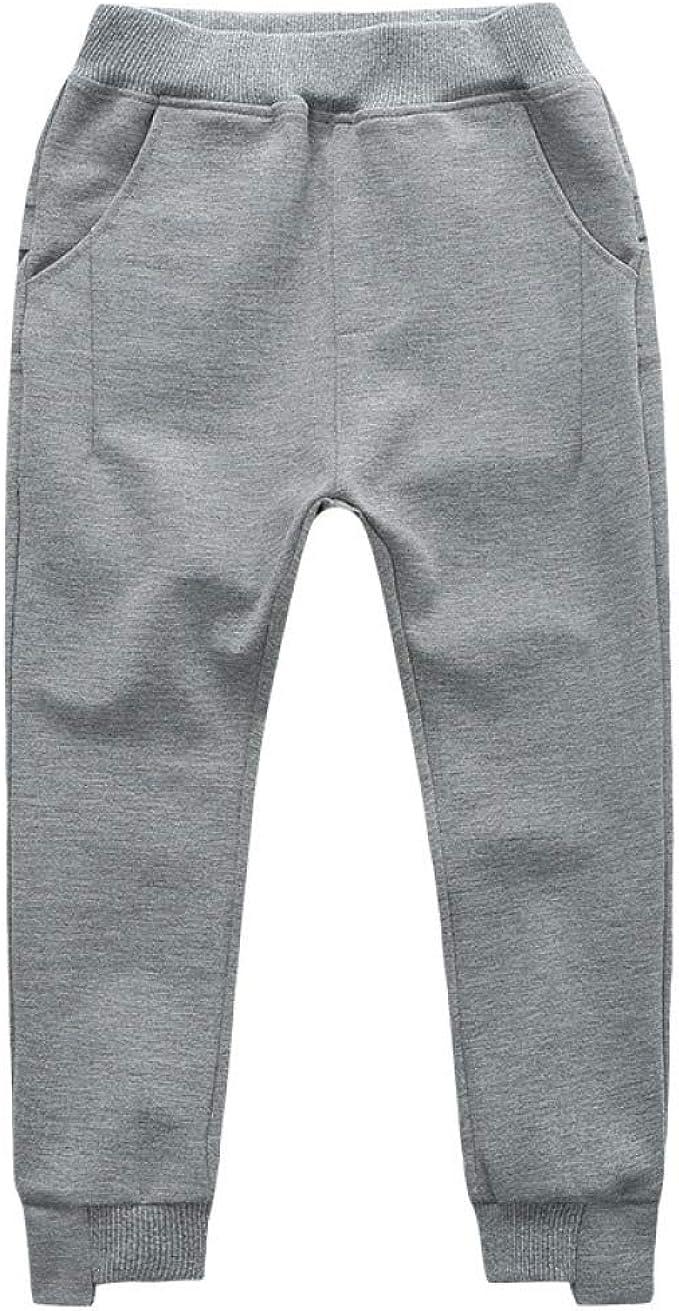 YoungSoul Pantalon de Gar/çon Jogging Motif Bas de Surv/êtement Enfant