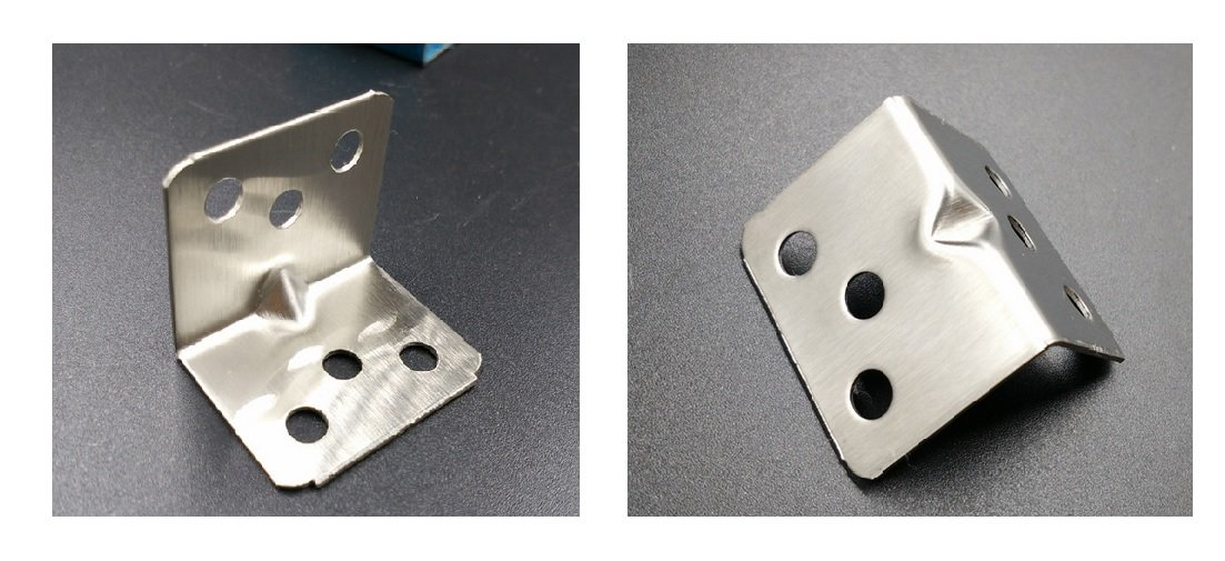 282835 HG-X 10 PCS 28mm x 28mm Hardware Heavy Duty L Shaped Metal Corner Brace Angle Bracket Support