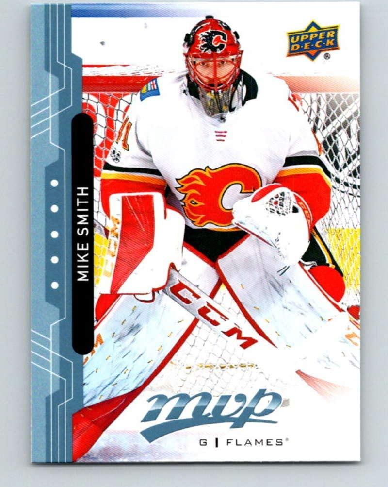 Amazon Com 2018 19 Upper Deck Mvp 34 Mike Smith Mint Hockey Nhl Flames Collectibles Fine Art