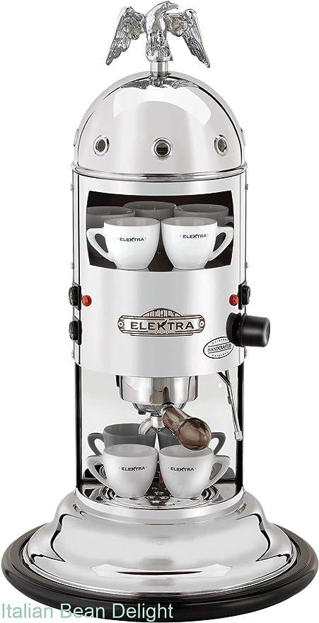 Mini Verticale Cromata Caffe Espresso - Elektra: Amazon.es: Hogar