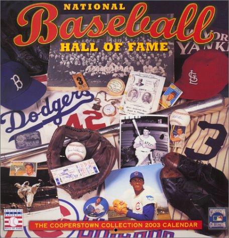 Baseball Hall of Fame Calendar (2003)