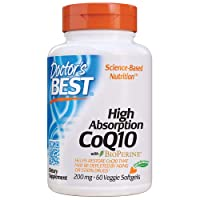 Doctor's Best High Absorption CoQ10 with BioPerine, Vegetarian, Gluten Free, Naturally...