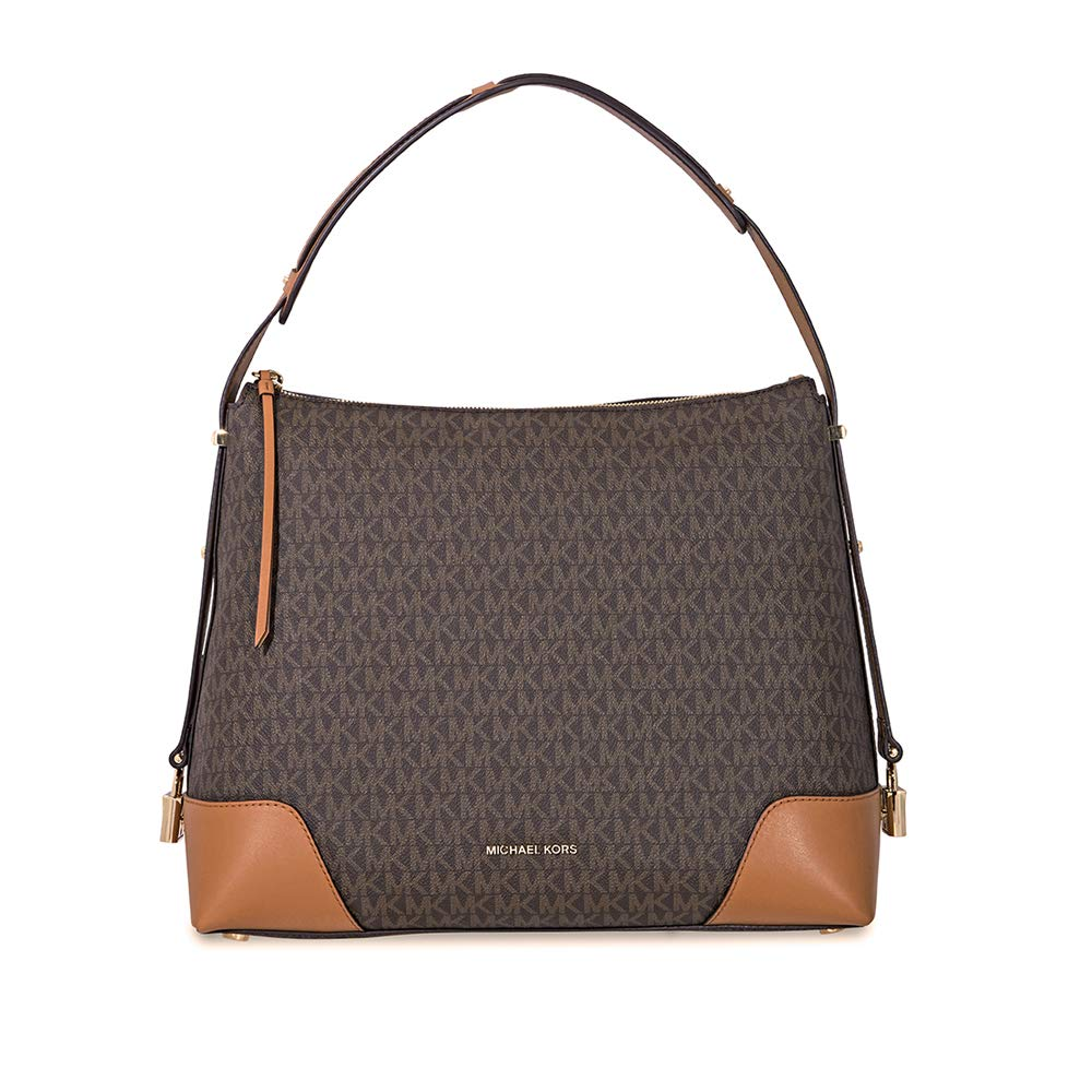 570a6c949d9f Michael Kors Crosby Large Logo Shoulder Bag  Amazon.co.uk  Shoes   Bags