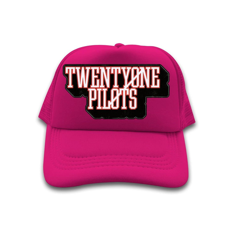 Men's/Women's cotton trucker hat Twenty One Pilots fan 2016 tour Popular Logo sun cap