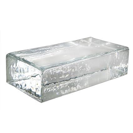 1 X Brique De Verre Crystal Collection Clair Brillant: Amazon.fr: Bricolage