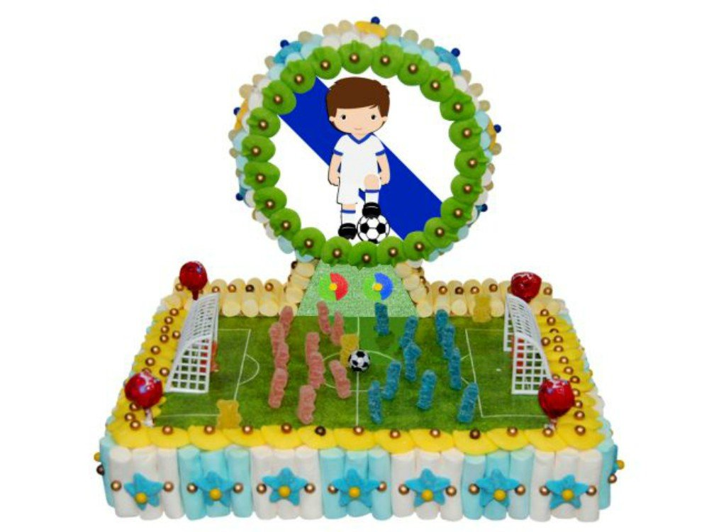 Original Tarta Decorativa de Golosinas Surtidas