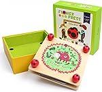 Happytime Kids' Flower & Leaf Press Nature Crafts Wooden Art Kit