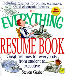 the everything resume book everything