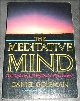 THE MEDITATIVE MIND DANIEL GOLEMAN PDF DOWNLOAD