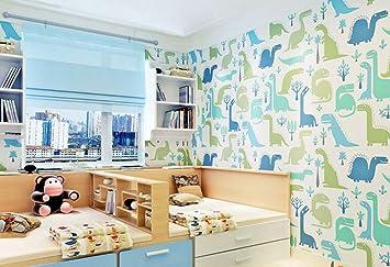 Tapete Kinderzimmer Schlafzimmer Dinosaurier Kleintier Hintergrund ...