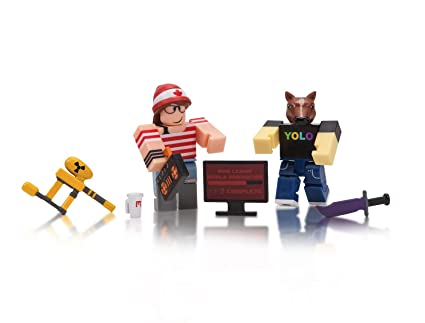 Amazoncom Roblox Mad Studio Mad Game Pack Toys Games
