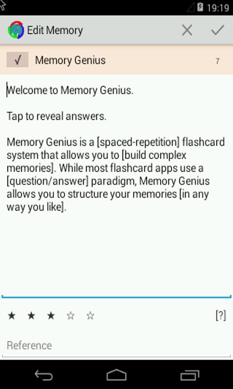 Amazon com: Memory Genius: Appstore for Android