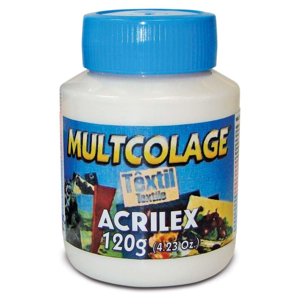 MULTICOLAGE TEXTIL ACRILEX (120GR)
