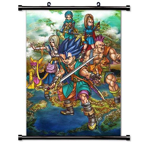 dragon quest wall scroll - 3