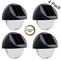 Deals on 4PK Westinghouse Intelligent Solar Deck Lights Solar Step Lights