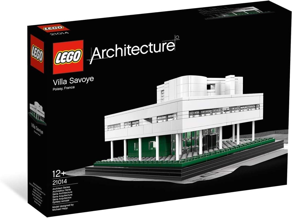 Lego Architecture Villa Savoye - Casa para Montar Villa Saboya. Exclusivo Fnac, Juguete Construcción A Partir de 12 años: LEGO: Amazon.es: Juguetes y juegos