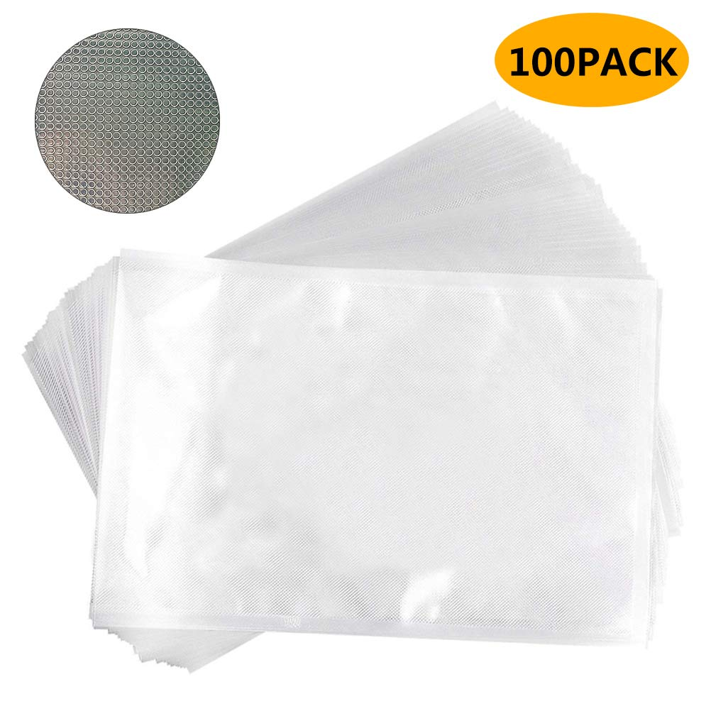 Vacuum Sealer Storage Bags for Food Saver Heavy-Duty Commercial Grade 20 Each Bag Size 3.14.7 3.55.1 3.95.9 68.6 710 Inch PA Free Sous Vide Vaccume Safe Commercial Grade Universal Bag Avid Armor