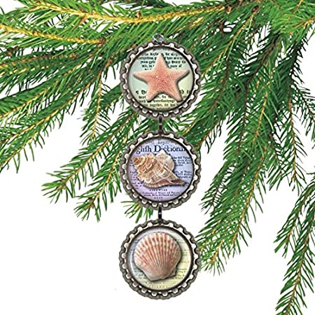 61ERCc279yL._SS450_ Seashell Christmas Ornaments