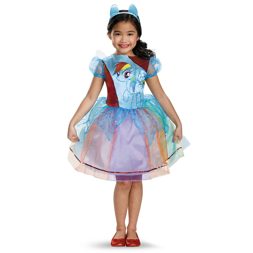My Little Pony Rainbow Dash Deluxe Costume for Kids by Disguise