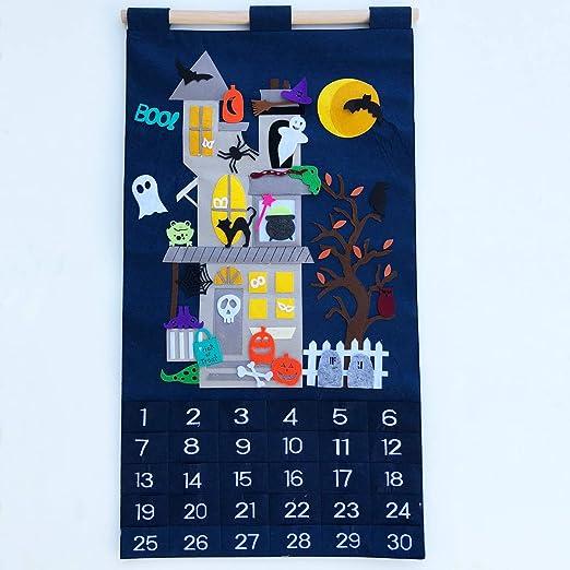 Halloween Countdown Calendar by My Growing Season