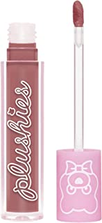 product image for Lime Crime Plushies Soft Matte Lipstick, Milk Tea - Sheer Mauve - Blackberry Candy Scent - Long Lasting, Nude Lips - Soft Focus, Non-Opaque Lip Veil - 0.11 fl oz