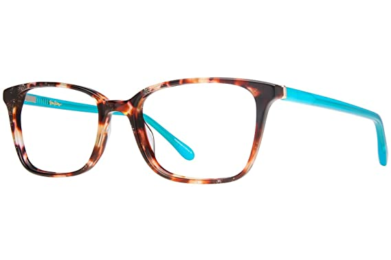 e77ee219b19bf LILLY PULITZER Eyeglasses WITHERBEE Tortoise at Amazon Women s ...