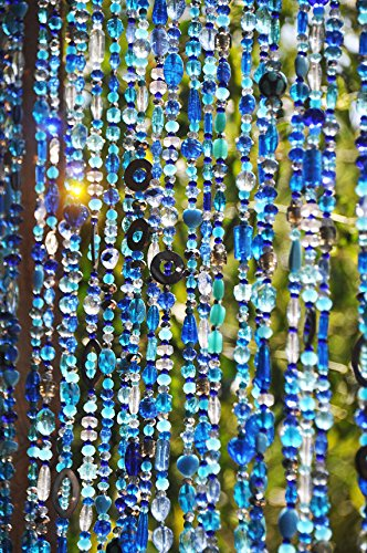 Buy Rasmy Home Decors Beaded Curtain, Glass prisms-Handmade Curtain ...