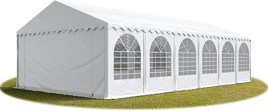Tente de réception 60 m² (5x12m) blanc produit neuf solide ...
