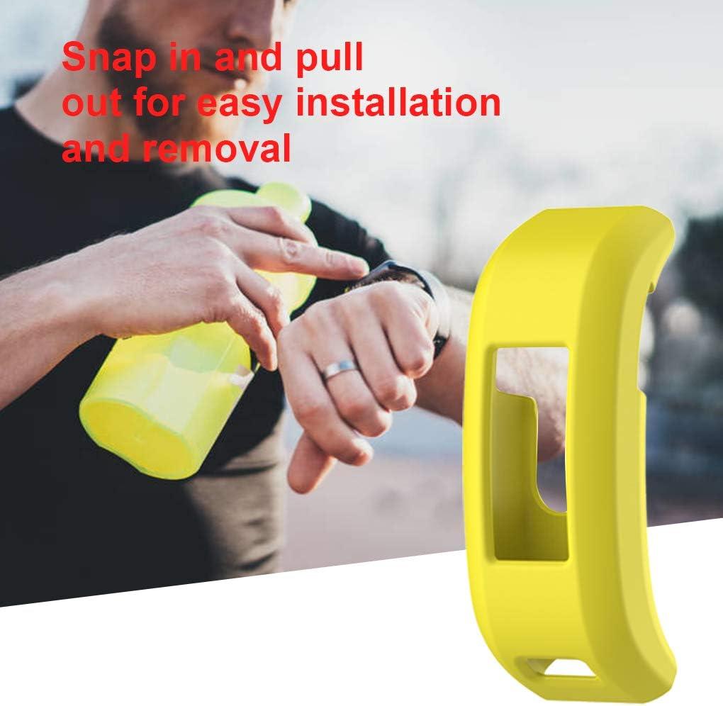 kexinda Telaio in silicone protettiva in gomma Case Tracker fitness Protector Shell sostituzione copertura della pelle per Garmin Vivosmart HR