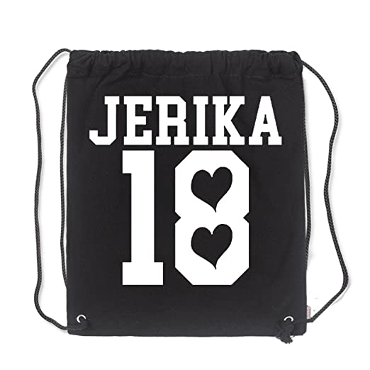 5d25566541 Aliensee Jerika 18 Jake Unisex Cotton Gym Sack Bag Drawstring Backpack  Sport Bag School Travel Sackpack