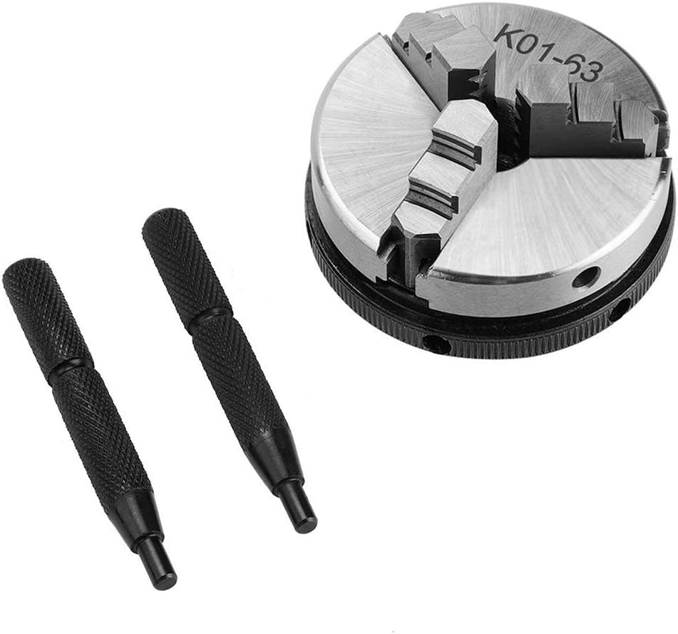 Mini Drei Backenfutter Pleuel K01-63 M14 Umkehrbare Selbstzentrierende Backen Drehfutter Baugger Holzdrehfutter System Drehfutter