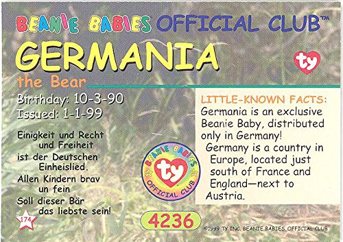Buy beanie babies germania BEST VALUE, Top Picks Updated + BONUS