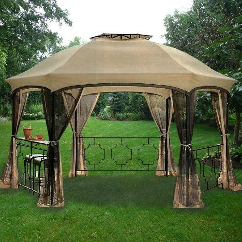 Dawson Hexagon Gazebo Replacement Canopy (Canopy Replacement Hexagon)