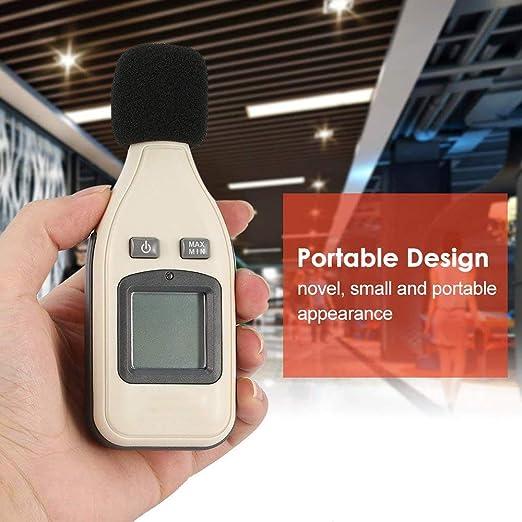 Mslora Medidor de Nivel de Sonido Digital medidor de Nivel Digital ...