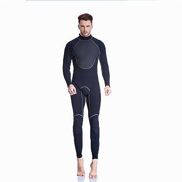f8133d54ea781 QIANSHUIFU DivingKing Traje Completo de 3 mm para Hombres Traje de Buceo de  Neopreno Térmico