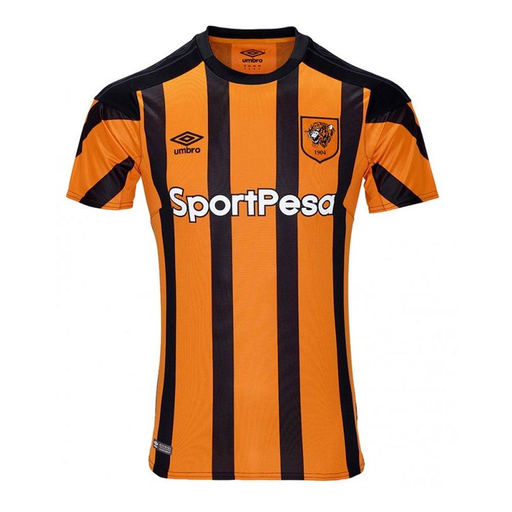 Umbro 2017-2018 Hull City Home Football Soccer T-Shirt Trikot