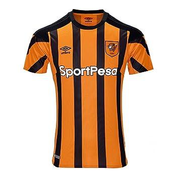 2017-2018 Hull City Home Football Shirt  Amazon.co.uk  Sports   Outdoors 214f901c1