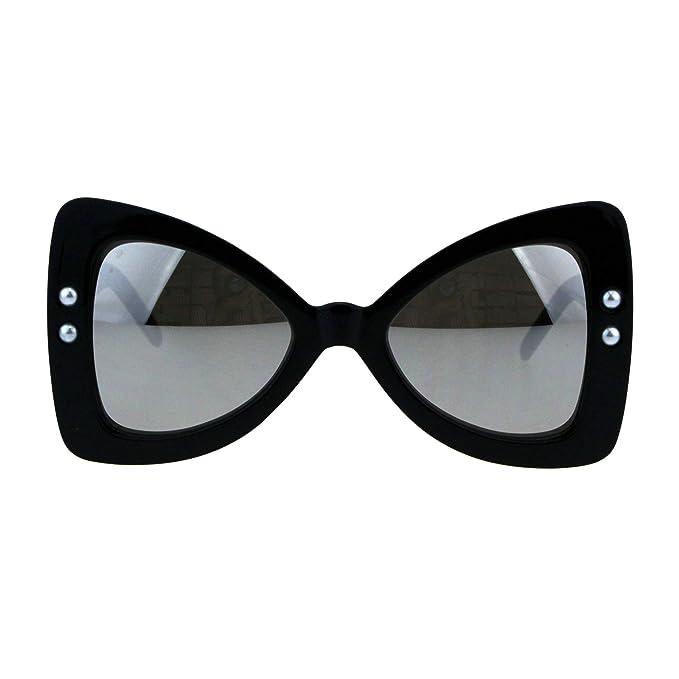 Amazon.com: Gafas de sol con lazo de mariposa para mujer ...